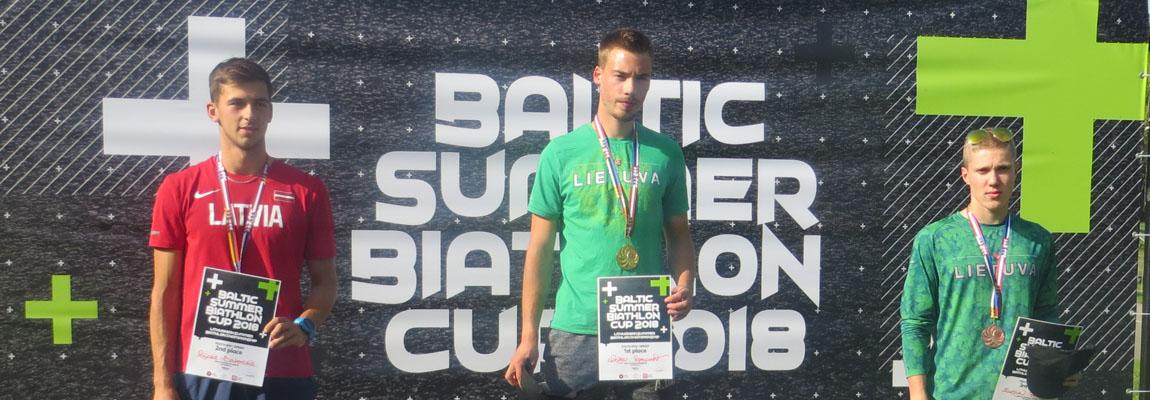 Znakomite osiągnięcia naszych biatlonistów na Pucharze Państw Bałtyckich w Priekuli na Łotwie