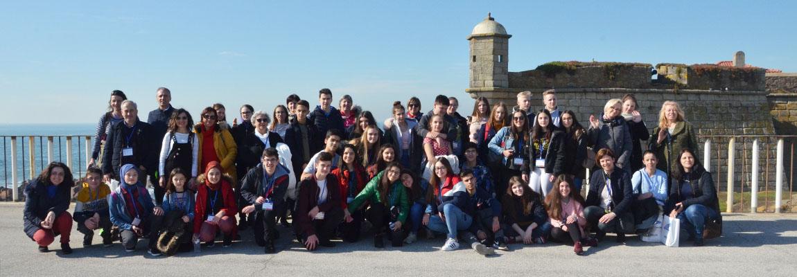 """Portugalija, Erasmus+ projektas """"Birds without Borders"""" / """"Paukščiai be sienų"""""""