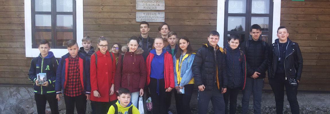 Nietradycyjne zajęcie-lekcja w Borejkowszczyźnie